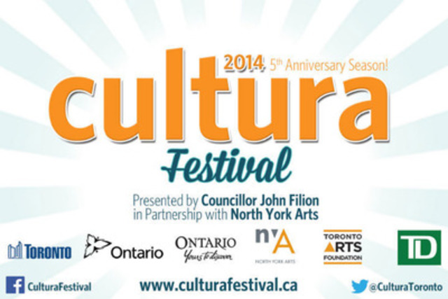Cultura Festival Logo (CNW Group/North York Arts)