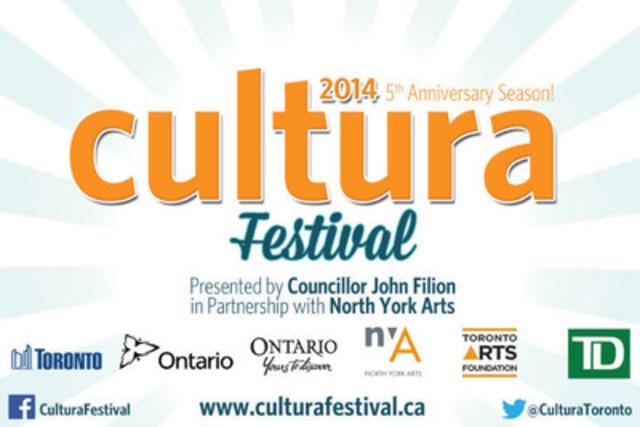 Cultura Festival Logo (CNW Group/North York Arts)