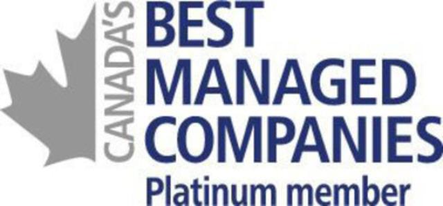 Eastlink earns prestigious Canada's Best Managed Platinum Status. (CNW Group/Eastlink)