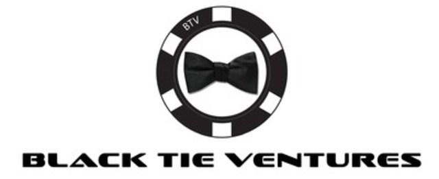 Logo : Black Tie Ventures (Groupe CNW/Les Jeux BTV inc.)