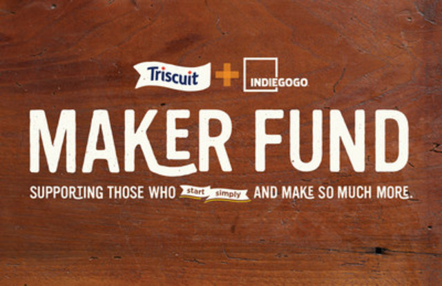 Triscuit Donating $250,000 to Food Maker Projects on Indiegogo (CNW Group/Mondelez Canada)