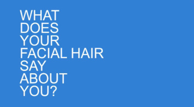 Dr. Peterkin on what your facial hairstyle says about you.