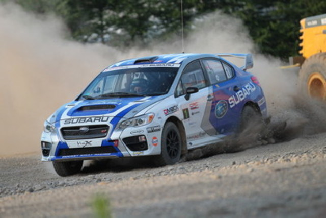 Subaru Canada: Still Leading Manufacturers on CRC Circuit (CNW Group/Subaru Canada Inc.)