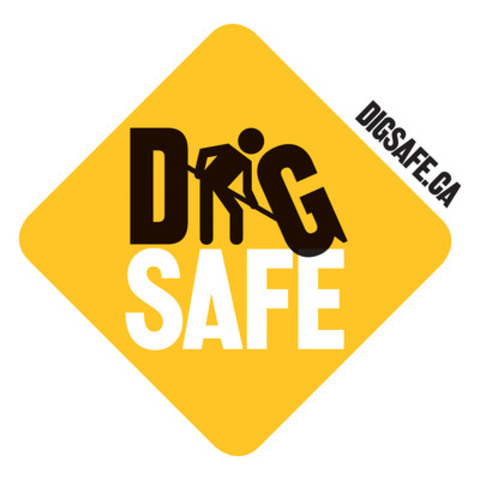 Logo: Dig Safe (CNW Group/Ontario Regional Common Ground Alliance (ORCGA))