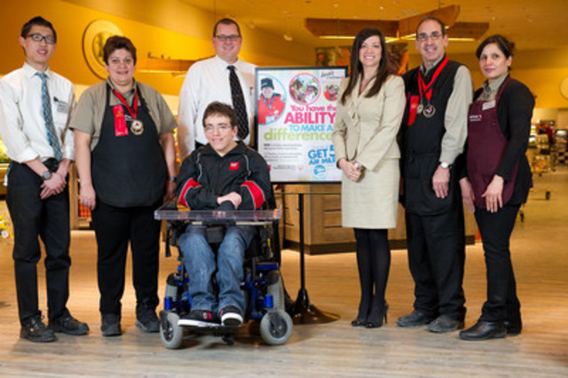 2013 National Safeway Disabilities Campaign Kickoff (CNW Group/Special Olympics Canada)