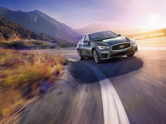 Infiniti Canada today announced a Manufacturer's Suggested Retail Price (M.S.R.P.) of $37,500 CDN for the all-new 2014 Infiniti Q50 sport sedan, which goes on sale this summer at Infiniti retailers in Canada. (CNW Group/Infiniti)