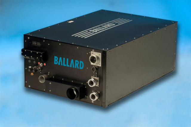 Ballard's FCvelocity®-HD6 Fuel Cell Module (CNW Group/Ballard Power Systems Inc.)