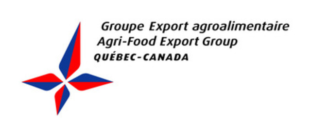 Groupe Export agroalimentaire Québec Canada (Groupe CNW/Groupe Export agroalimentaire Québec Canada)