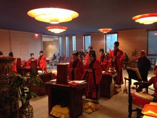 Des rituels et des cérémonies se tiendront régulièrement au temple Wong Dai Sin. (Groupe CNW/Fung Loy Kok Institute of Taoism)
