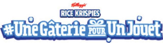 Des gâteries Rice Krispies se transforment en de vrais jouets pour des enfants dans le besoin en cette saison des fêtes (Groupe CNW/Kellogg Canada Inc.)
