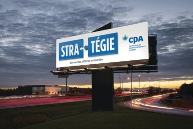 Nouvelle campagne publicitaire nationale des CPA  (Groupe CNW/CPA Canada)