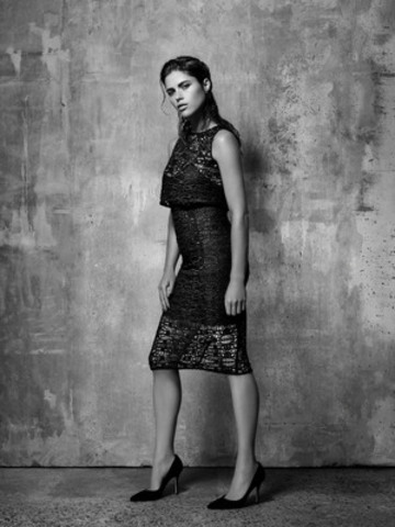 DECONSTRUCTED LACE DRESS $169.90 (CNW Group/Reitmans (Canada) Limited)
