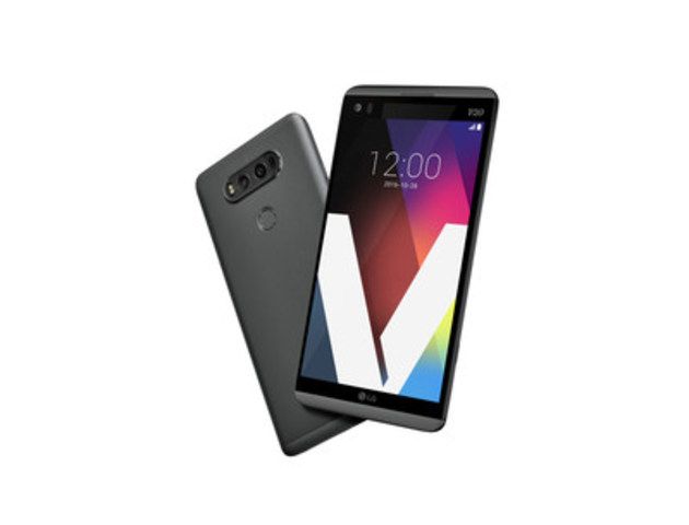 LG'S FEATURE-RICH ULTIMATE V20 SMARTPHONE AVAILABLE IN CANADA ON OCTOBER 28TH (CNW Group/LG Electronics Canada)