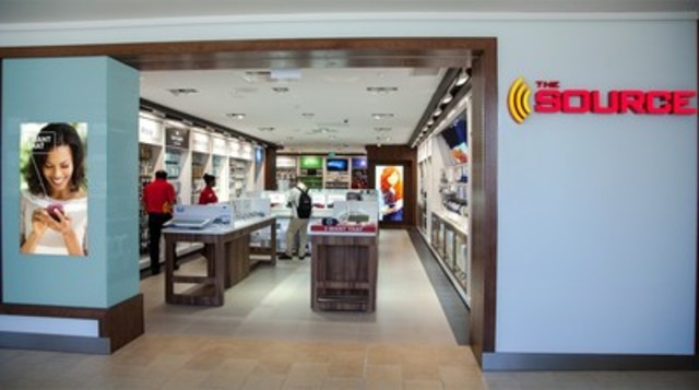 The Source Opens Newly Designed Interactive Store at Toronto's Yorkdale Mall (CNW Group/The Source)