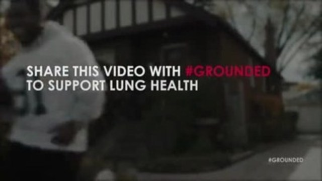 """It's game day with Michael """"Pinball"""" Clemons, but Tom's #grounded by pneumococcal pneumonia. For each video view or share, $5 will be donated to the Ontario Lung Association"""
