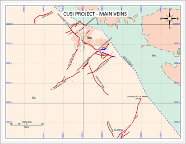 Figure 1: Cusi Project Map View (CNW Group/Dia Bras Exploration Inc.)