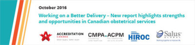 Logo: Working on a Better Delivery (CNW Group/Canadian Medical Protective Association)