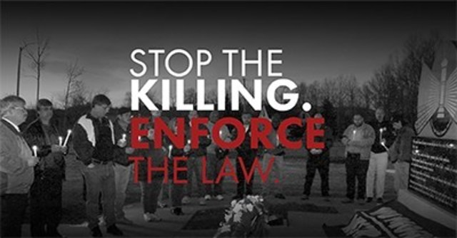 Over 1,000 workers a year are killed on the job in Canada. Stop the Killing, Enforce the Law is a campaign to enforce the Westray law in cases of employer negligence causing workplace deaths and injuries. The B.C. Ministry of Energy and Mines has signed a Memorandum of Understanding with the province's police agencies enshrining a protocol for the investigation of mine-site fatalities and bodily harm. (CNW Group/United Steelworkers (USW))