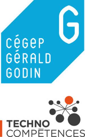Logo: Cégep Gérald-Godin et TechnoCompétences (Groupe CNW/Cégep Gérald-Godin)