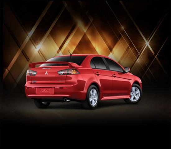2013 Mitsubishi Lancer 10th Anniversary Edition (CNW Group/Mitsubishi Motor Sales of Canada, Inc.)