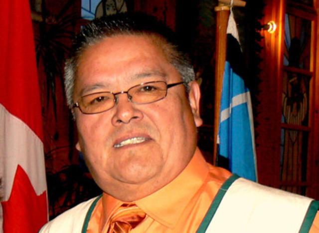 Jean-Charles Piétacho. (Groupe CNW/CONSEIL DES INNU DE EKUANITSHIT)