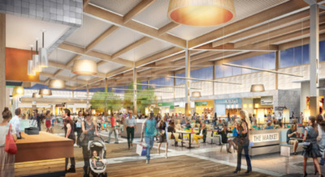Simon Partners with Ivanhoé Cambridge on Premium Outlet Collection - Edmonton International Airport (CNW Group/Ivanhoé Cambridge)