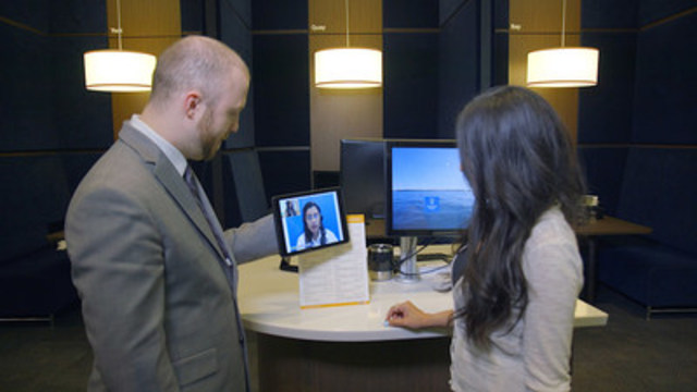 Real-time multi-language interpretation – including American Sign Language – marks a North American financial institution first for two-way video service for clients (CNW Group/RBC)