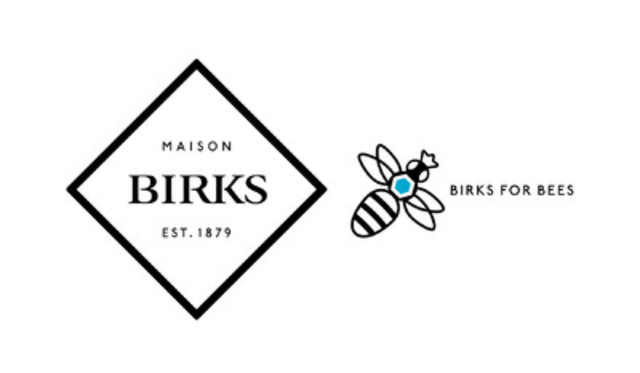 Birks is proud to support honey bee conservation. (CNW Group/Birks Group Inc.)