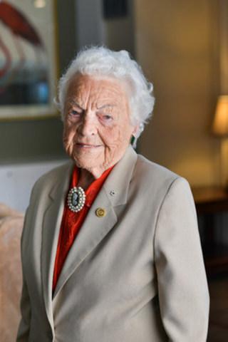 Revera has appointed Hazel McCallion as Chief Elder Officer. (CNW Group/Revera Inc.)