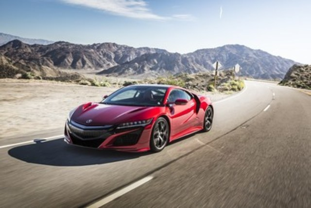 2017 Acura NSX, available at Policaro Acura (Source: Policaro Automotive Family) (CNW Group/Policaro Automotive Family)