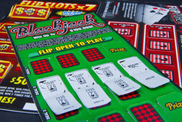 Flip Scratch™, a patented Fusion® product, provides a unique way for lotteries to add value and excitement to an instant game by combining pop-open windows with scratch-off games to virtually double the amount of available play! (CNW Group/Pollard Banknote Limited)