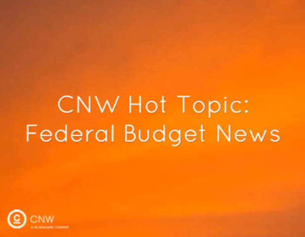For the convenience of researchers and news media covering this topic, CNW has added Federal Budget as a Hot Topic on newswire.ca.  (CNW Group/CNW Group Ltd.)