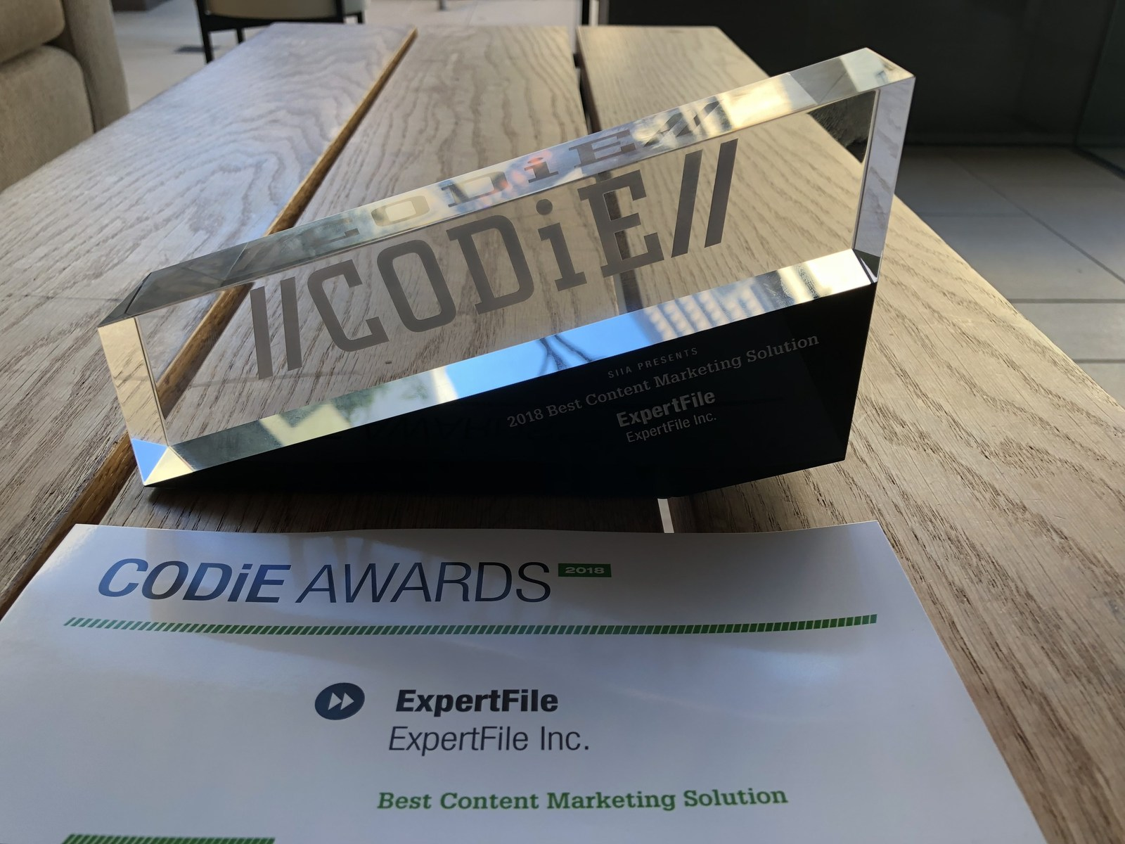 ExpertFile Wins