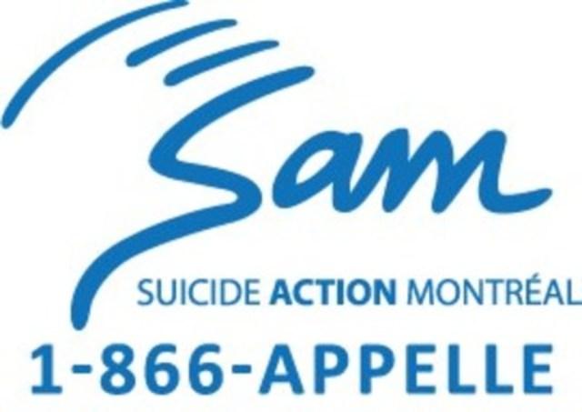 Logo : Suicide Action Montréal (Groupe CNW/Suicide Action Montréal)