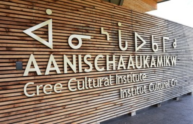 Institut Culturel Cri Aanischaaukamikw, Ouje-Bougoumou, Qc. (Groupe CNW/Grand Conseil des Cris (Eeyou Istchee))