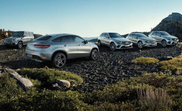 Les ventes d'utilitaires légers de luxe ont poursuivi leur ascension, enregistrant ainsi une augmentation de 10,8 % par rapport à celles de juin 2015 et affichant, en termes de ventes cumulées depuis le début de l'année, une croissance de 17,6 % par rapport aux ventes du premier semestre de 2015. (Groupe CNW/Mercedes-Benz Canada Inc.)