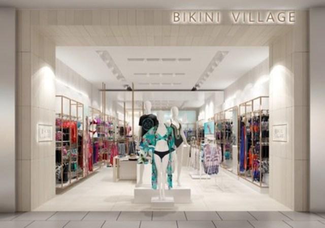 Bikini Village - Nouveau concept de boutique, devanture (Groupe CNW/Bikini Village)