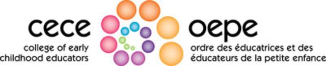 Ordre des éducatrices et des éducateurs de la petite enfance (Groupe CNW/Ordre des éducatrices et des éducateurs de la petite enfance)