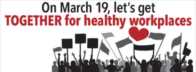 Together for healthy workplaces. (CNW Group/Professional Institute of the Public Service of Canada (PIPSC))