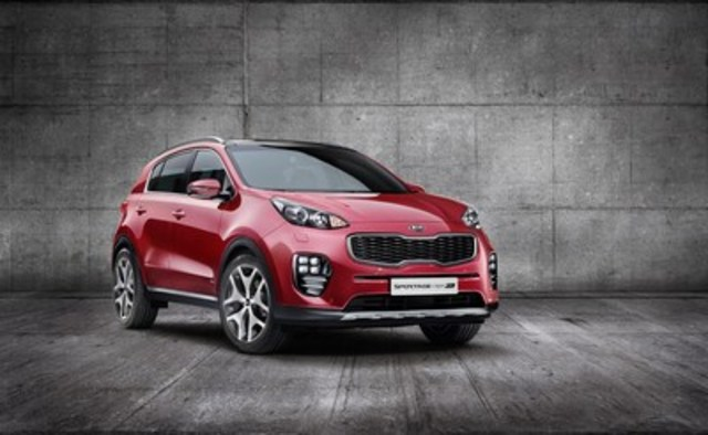 The all-new Kia Sportage (CNW Group/KIA Canada Inc.)