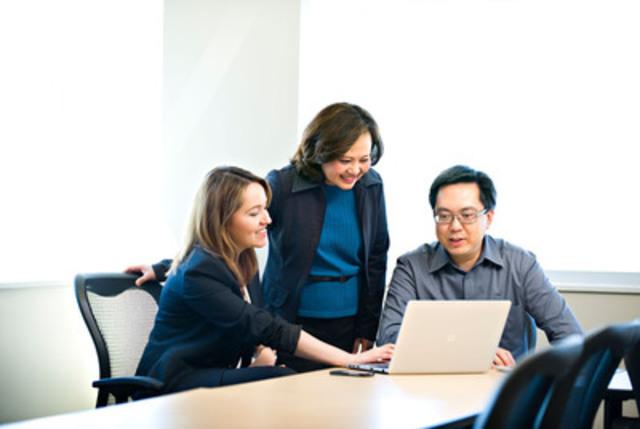 BDC a découvert que la certification LEED est un attrait pour les employés (Groupe CNW/Banque de développement du Canada)