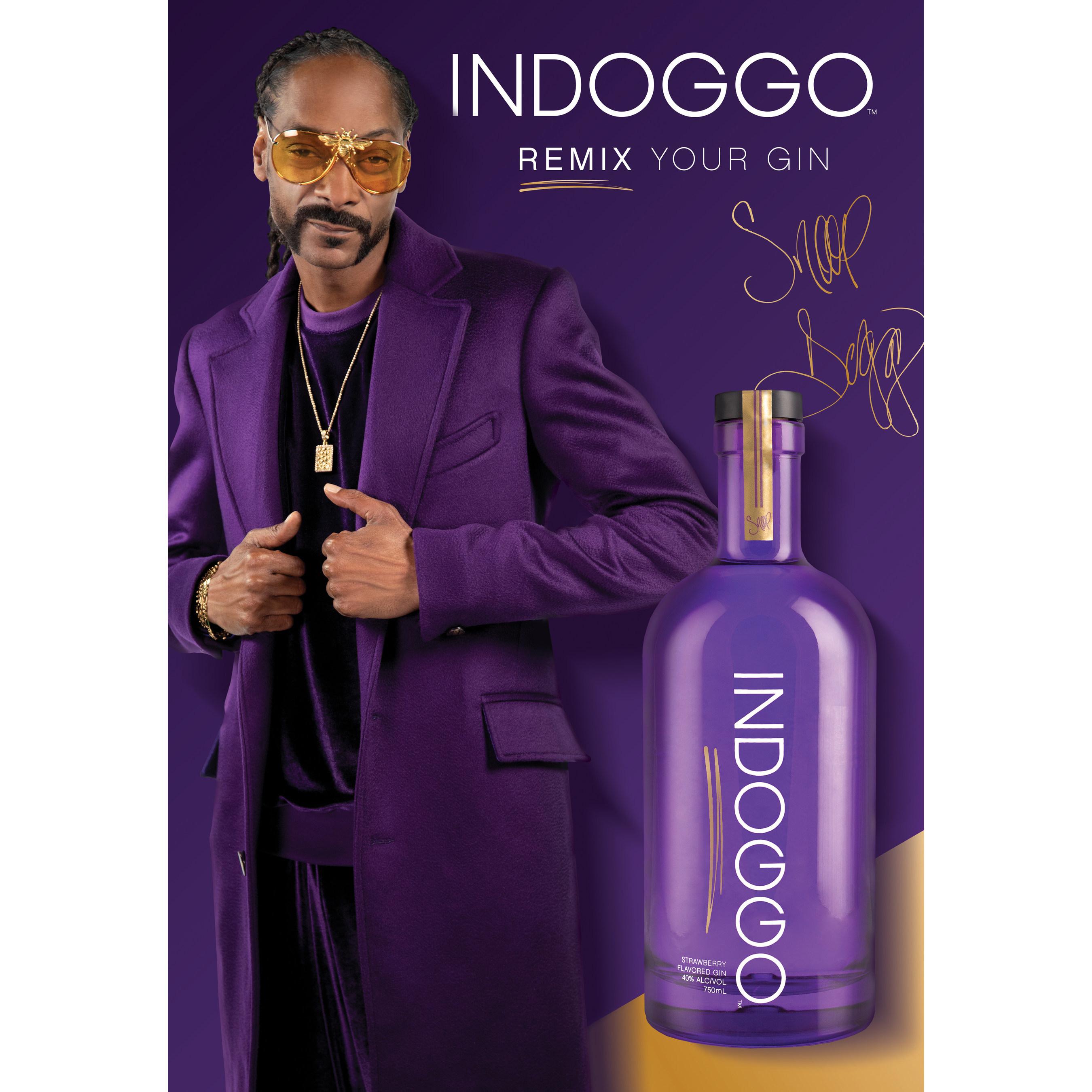 Snoop Dogg Launch His Gin Brand Indoggo