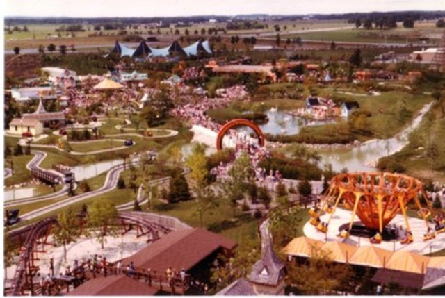 From the Canada's Wonderland archives. (CNW Group/Canada's Wonderland Company)