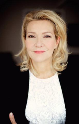 Élise Guilbault, nouvelle porte-parole de Moisson Montréal. Photo: Sarah Mongeau-Birkett pour Moisson Montréal (Groupe CNW/MOISSON MONTREAL)