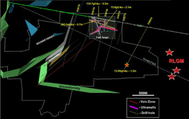 Figure 1 - Tram development image - As at March 2013. (CNW Group/Premier Gold Mines Limited)