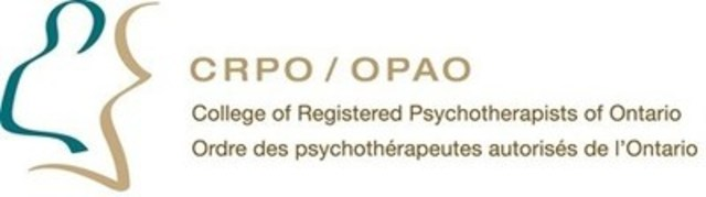 College of Registered Psychotherapists of Ontario (CNW Group/College of Registered Psychotherapists of Ontario)