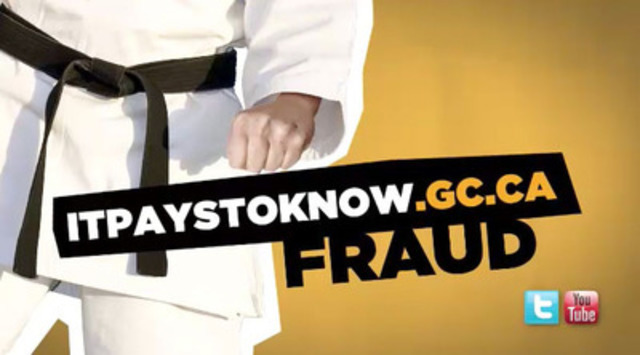 Video: It pays to watch FCAC's new Tip Clips! Fight fraud by being informed.
