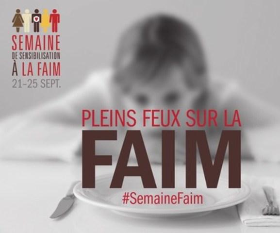 Semain de sensibilisation a la faim (Groupe CNW/Banques alimentaires Canada)