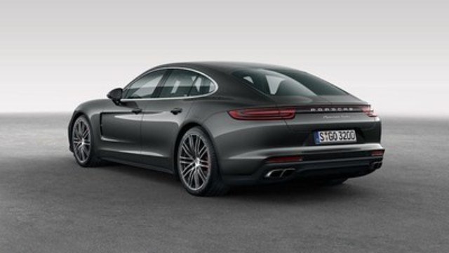 The new 2017 Porsche Panamera. (CNW Group/Porsche Cars Canada)
