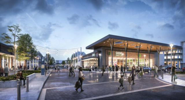 Ontario's first outdoor urban shopping centre to undergo upgrades and enhancements to deliver a retail destination for all seasons (CNW Group/Cadillac Fairview Corporation Limited)